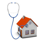 Stethoscope House Royalty Free Stock Photo