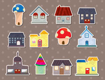 House stickers Stock Photos