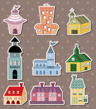 House stickers Stock Images