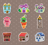 House stickers Stock Image