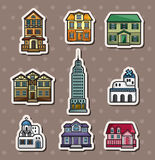 House stickers Royalty Free Stock Images