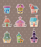 House stickers Royalty Free Stock Photos