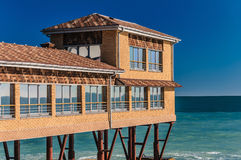 House on stilts Royalty Free Stock Photos