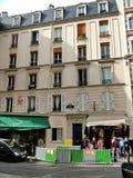 House 74 on the street Cardinal Lemoine in Paris Stock Photography
