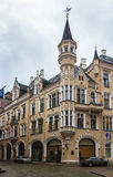 The House in the style of Art Nouveau, Riga Stock Photography