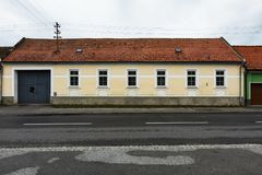House in Bratislava stock photography