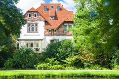 House in summer day Royalty Free Stock Photos