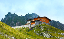 House in summer mountain (Romania). Royalty Free Stock Photography