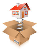 House surprise Royalty Free Stock Image