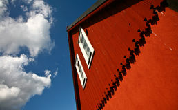 House in Sweden. House in south Sweden in the province of Sk�ne Stock Photography