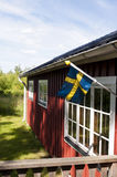 House in Sweden Royalty Free Stock Photos