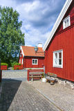 House in Swedish countryside Royalty Free Stock Photo