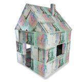 House of 100 swedish kronor Stock Image