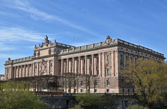 House of swedish parliament Royalty Free Stock Photos