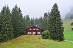 House in Switzerland Stock Photos