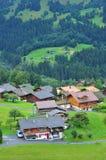 House in Switzerland Stock Photo