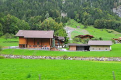 House in Switzerland Royalty Free Stock Photography