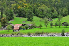 House in Switzerland Stock Image