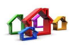 House symbols Stock Photo