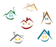 House symbols Royalty Free Stock Images