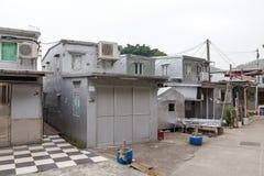 House in Tai O Lantau Island Hong Kong.  stock photos