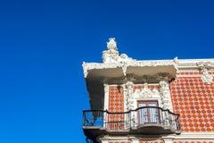 House with Talavera Pottery Royalty Free Stock Photos