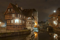 House tanners, Petite France district. Strasbourg, France Royalty Free Stock Photography