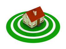 House target concept Stock Image