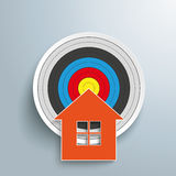 House Target Stock Photography