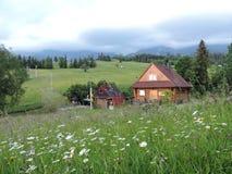 House in Tatra mountains, Slovakia Stock Image