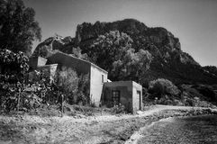 House in Tavolara Island; this island is one of most important islands of Sardinia Italy Stock Images