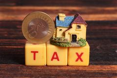 House tax royalty free stock images