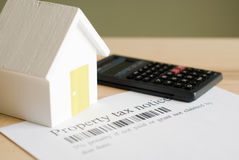 House tax Stock Photography