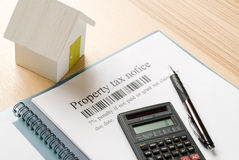House tax Stock Image