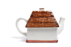 House Teapot Royalty Free Stock Photos