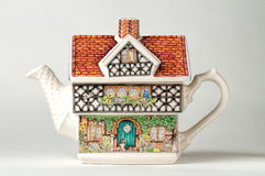 House teapot Royalty Free Stock Image