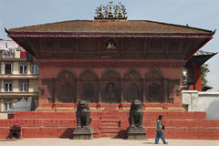 House Temple - Durbar Square - Kathmandu - Nepal Royalty Free Stock Photos