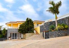 House on Tenerife, Canary Islands, Spain Royalty Free Stock Photo