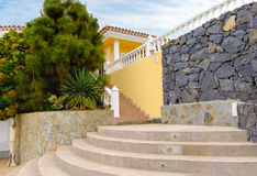 House on Tenerife, Canary Islands, Spain Stock Images