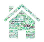 House text symbol Royalty Free Stock Image