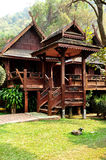 House of Thai Lanna style Royalty Free Stock Photography