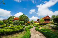 House thai style Royalty Free Stock Images