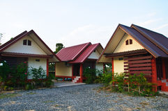 House in Thai style Royalty Free Stock Photos