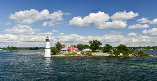 House on the Thousand Islands Royalty Free Stock Photography