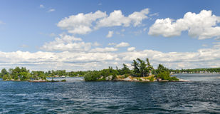 House on the Thousand Islands Royalty Free Stock Image