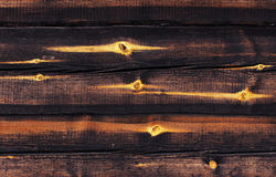 The house of timber is very cozy. Wood texture pleasing to the eye Stock Image