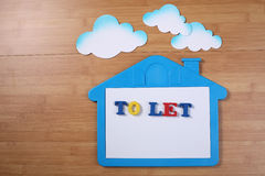 House to let Royalty Free Stock Photo