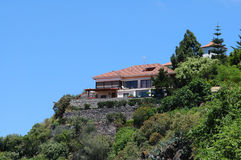House on the top royalty free stock photography