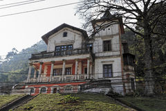 House on Top of a Hill Petropolis Stock Images