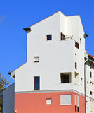 House in the town of Vilamoura in Portugal Stock Images